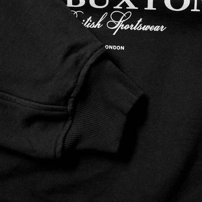 Cole Buxton Crest Logo Crew Sweat Black Detail 2