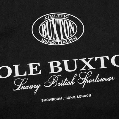 Cole Buxton Crest Logo Crew Sweat Black Detail