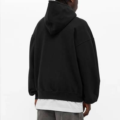 Cole Buxton Crest Logo Hoody Black Back