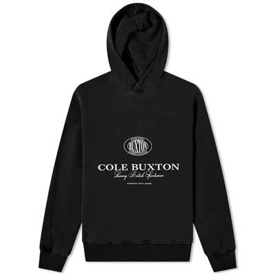 Cole Buxton Crest Logo Hoody Black
