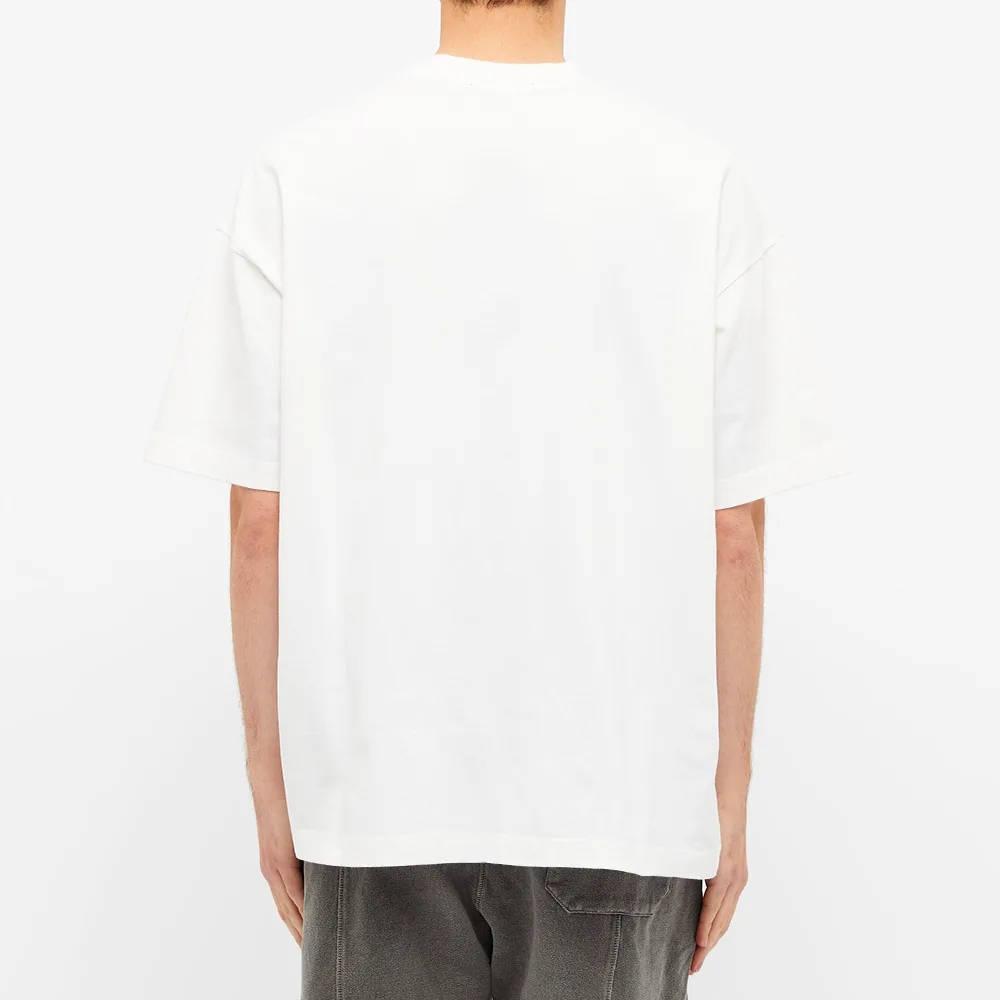 Cole Buxton Crest Logo Tee White Back 2