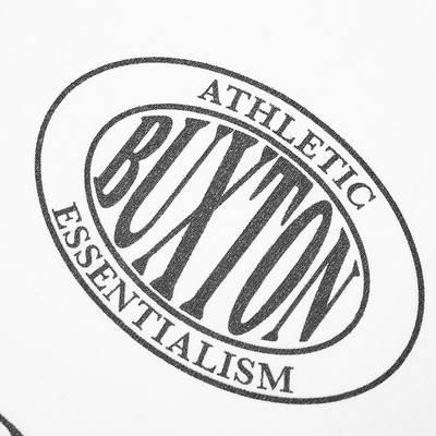 Cole Buxton Crest Logo Tee White Detail 2