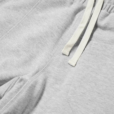 Cole Buxton Gym Sweat Pant Grey Marl Detail