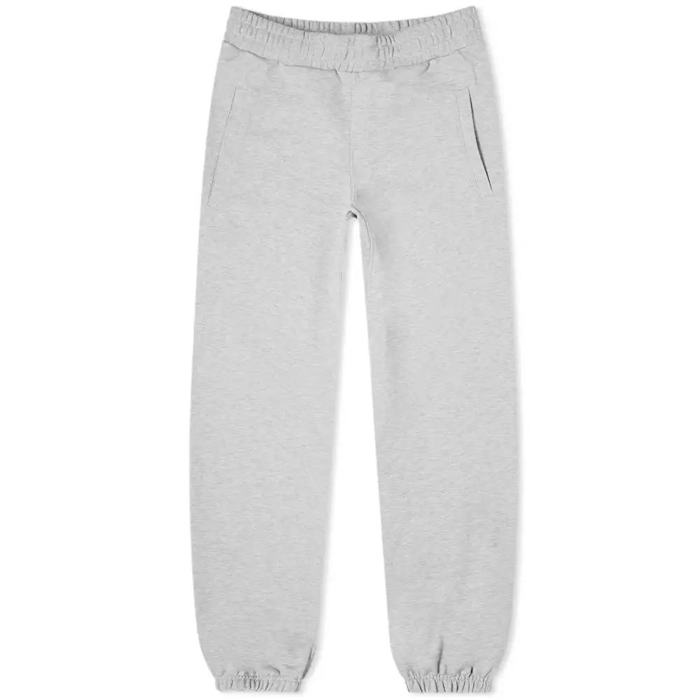 Cole Buxton Gym Sweat Pant Grey Marl Front