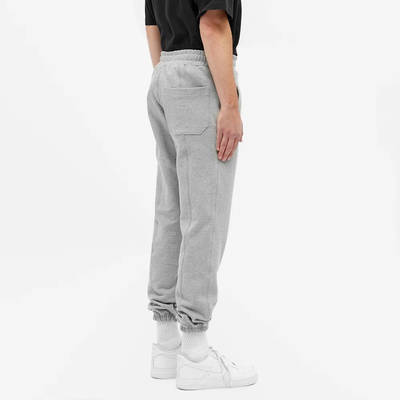 Cole Buxton Gym Sweat Pant Grey Marl Side