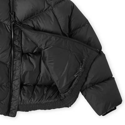 Cole Buxton Insulated Down Jacket Satin Black Detail