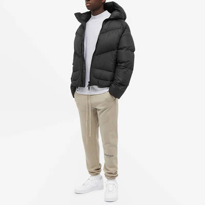 Cole Buxton Insulated Down Jacket Satin Black Full