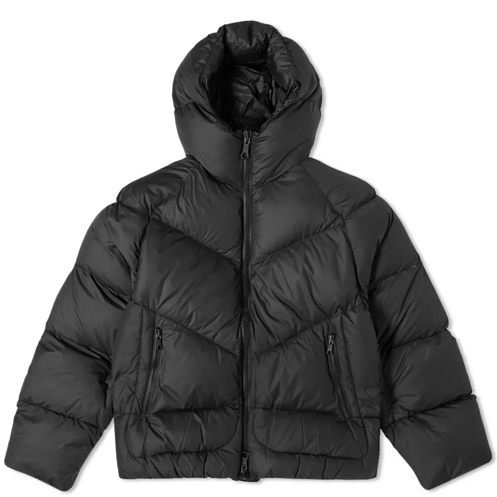 Cole Buxton Insulated Down Jacket Satin Black