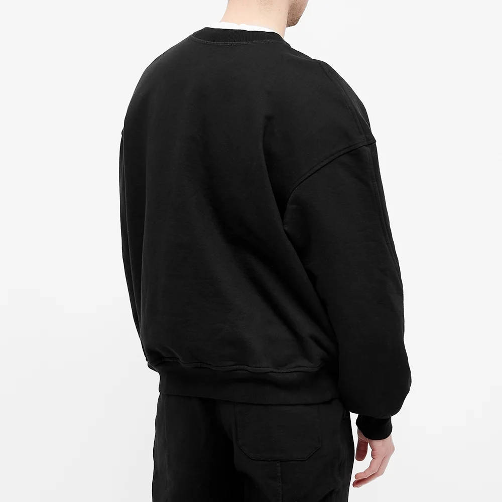 Cole Buxton MX Logo Crew Sweatshirt Black Back
