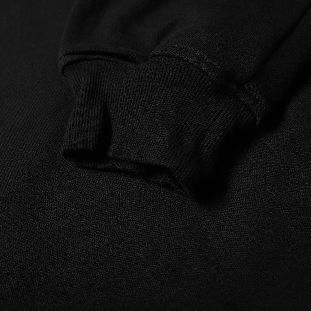 Cole Buxton MX Logo Crew Sweatshirt Black Detail 2