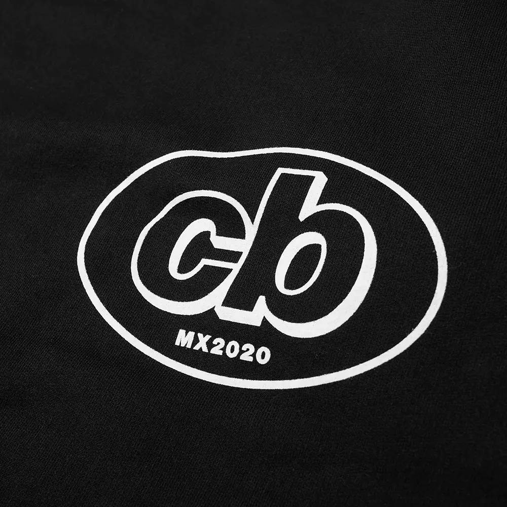 Cole Buxton MX Logo Crew Sweatshirt Black Detail