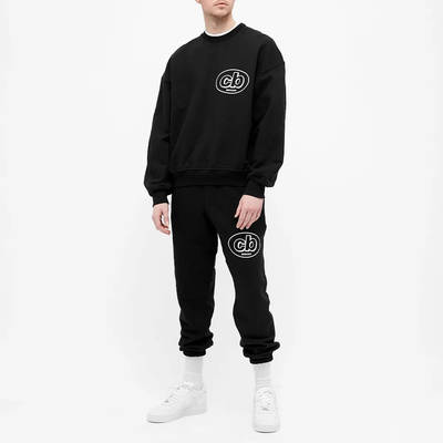 Cole Buxton MX Logo Crew Sweatshirt Black Full