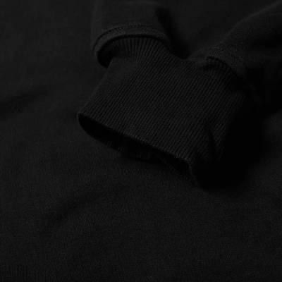 Cole Buxton MX Logo Hoody Black Detail 2