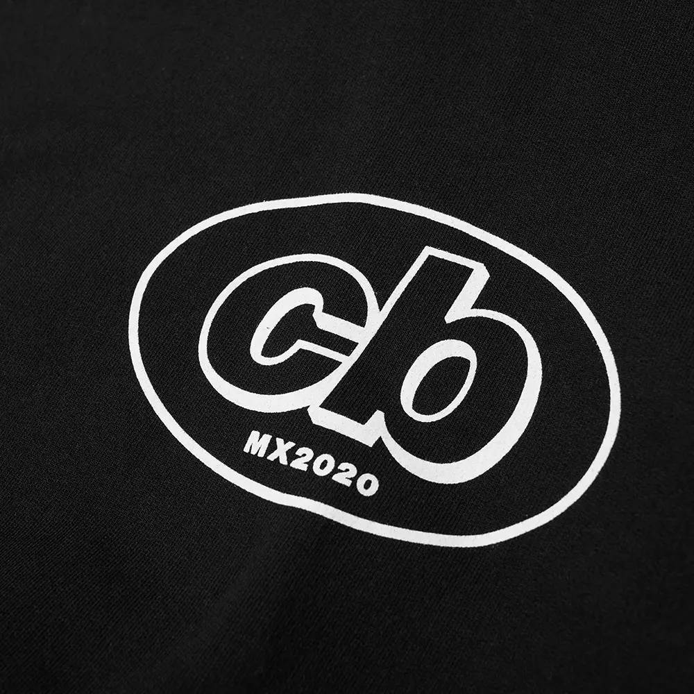 Cole Buxton MX Logo Hoody Black Detail