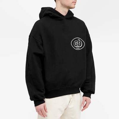 Cole Buxton MX Logo Hoody Black Front
