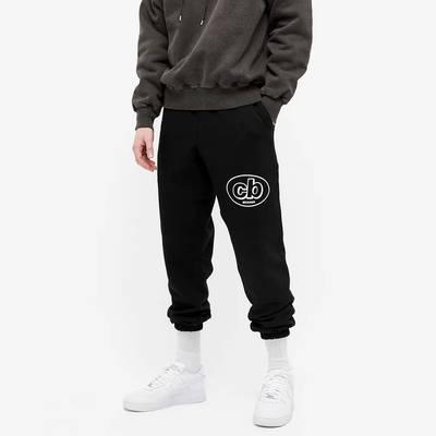 Cole Buxton MX Logo Sweat Pant Black Front