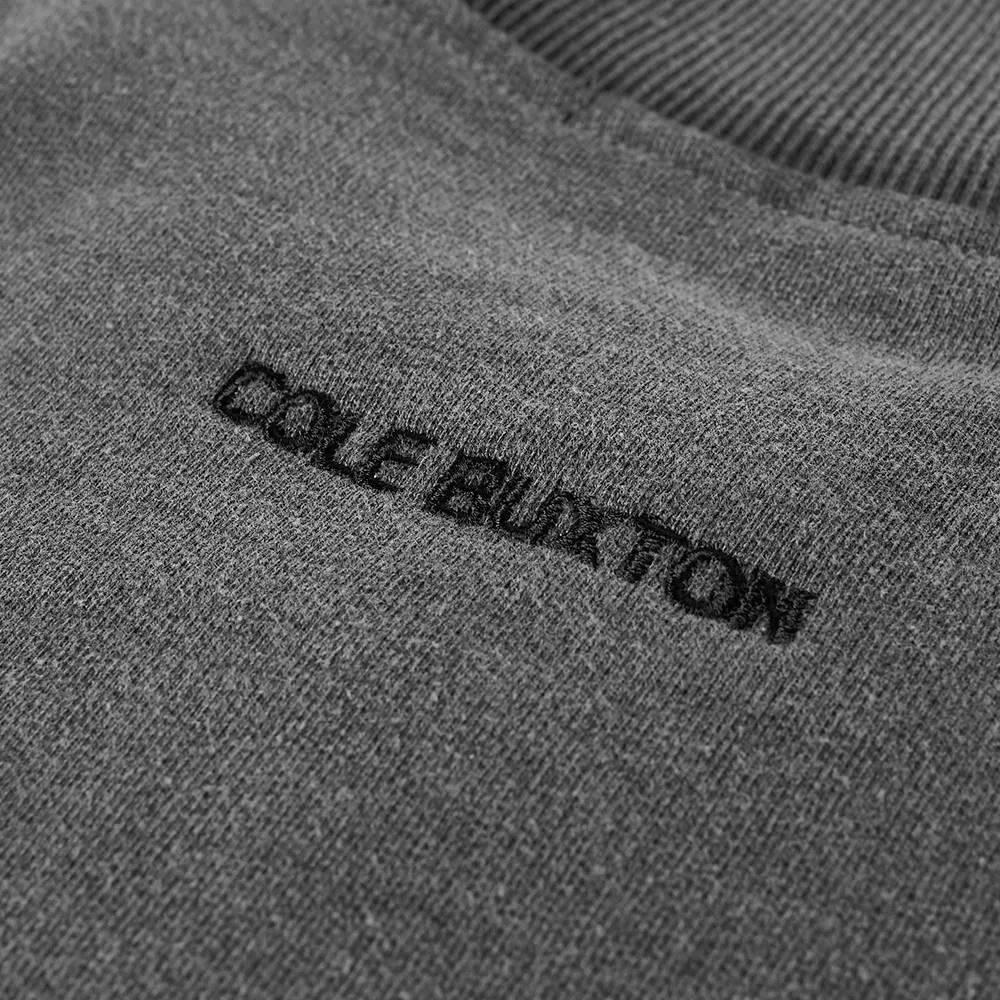 Cole Buxton Zipped Bomber Jacket Washed Black Detail