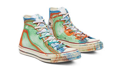 Converse Chuck 70 Hydro Dip Dyed Canvas LTD Hi Multi Front