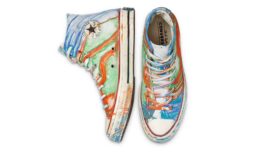 Converse Chuck 70 Hydro Dip Dyed Canvas LTD Hi Multi Middle