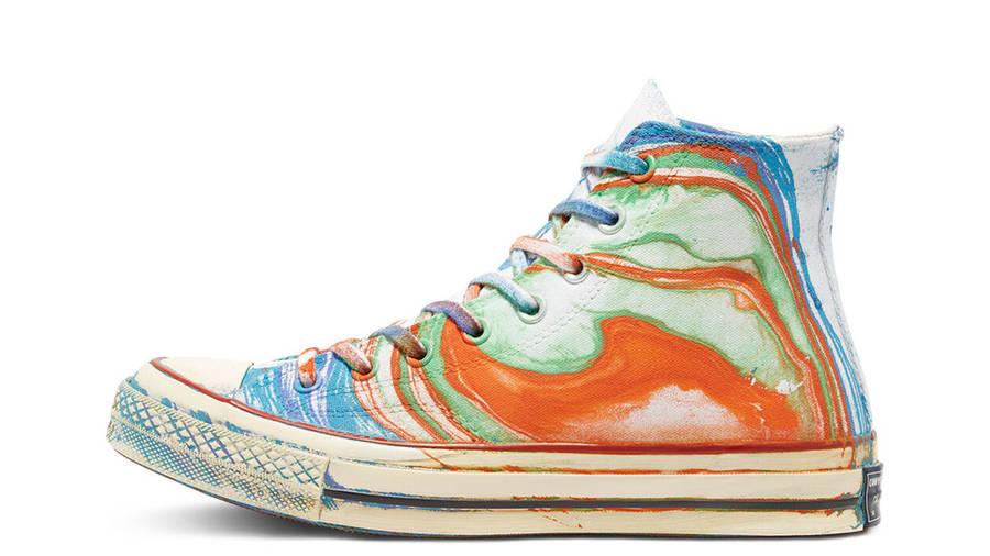 Converse Chuck 70 Hydro Dip Dyed Canvas LTD Hi Multi