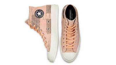 Converse Chuck 70 Patchwork High Peach Middle
