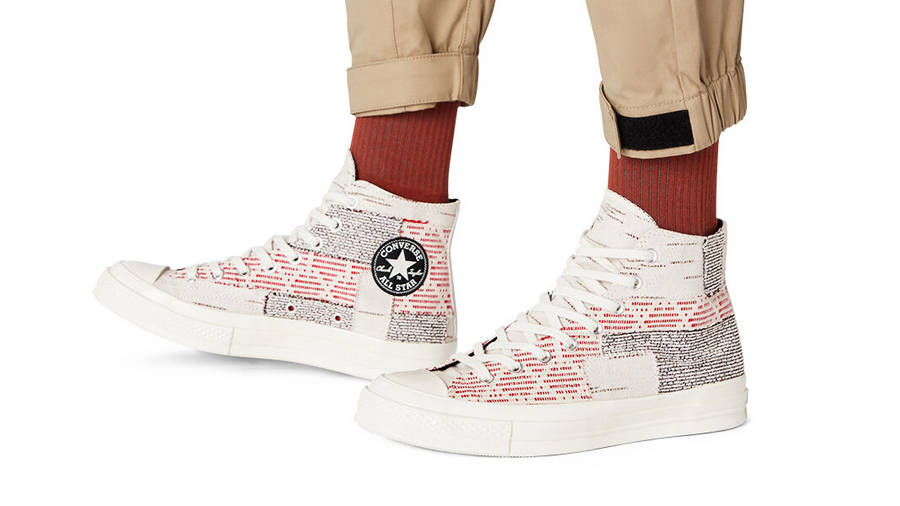 Converse Chuck 70 Patchwork High Twill Light On Foot
