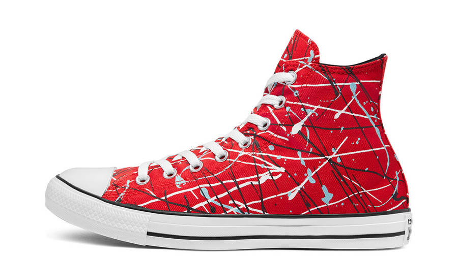 Converse Chuck Taylor All Star Archive Paint Splatter Hi Red