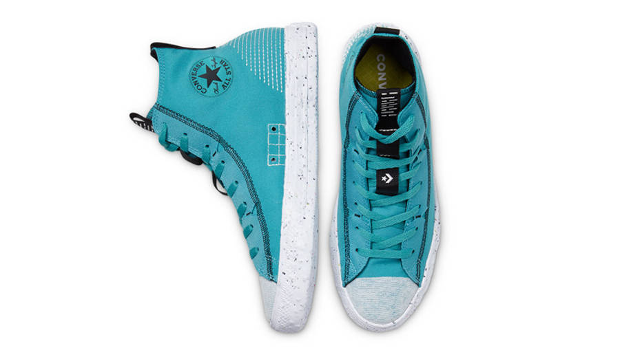 Converse Chuck Taylor All Star Crater Summer Daze High Harbor Teal Middle