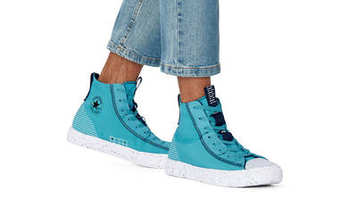 Converse Chuck Taylor All Star Crater Summer Daze High Harbor Teal On Foot