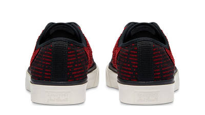 Converse Jack Purcell Rally Patchwork Low Black Tomato Puree Back
