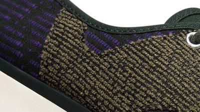 Converse Jack Purcell Rally Patchwork Low Deep Lichen Green Closeup