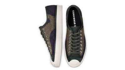 Converse Jack Purcell Rally Patchwork Low Deep Lichen Green Middle