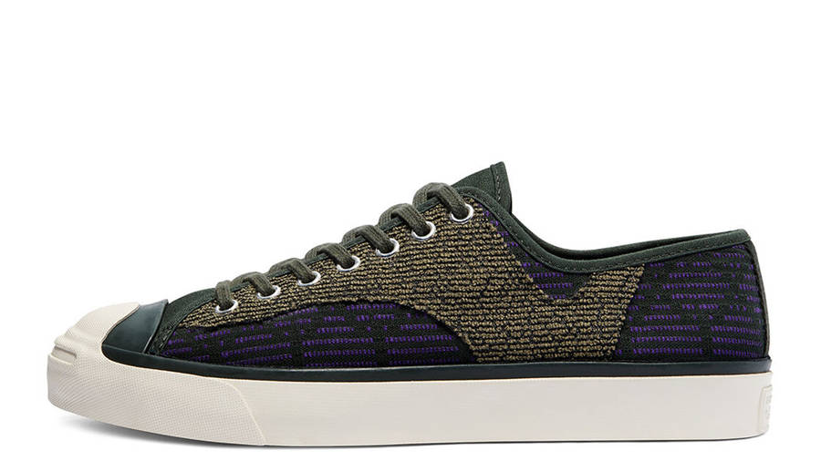 Converse Jack Purcell Rally Patchwork Low Deep Lichen Green
