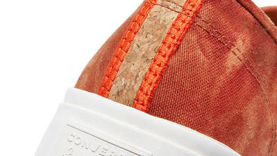 Converse Jack Purcell Summer Daze Low Red Bark Closeup