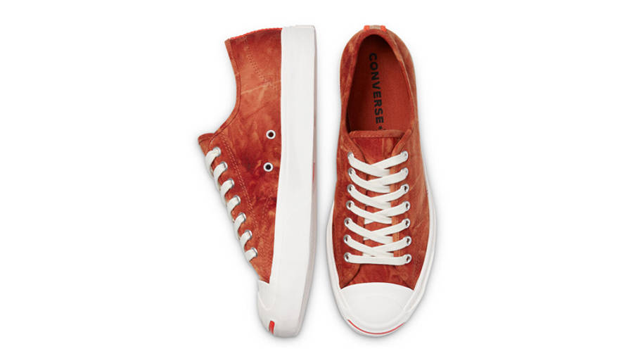 Converse Jack Purcell Summer Daze Low Red Bark Middle