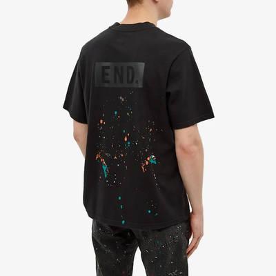 END x Levi's Painted Logo T-Shirt Tonal Black Back