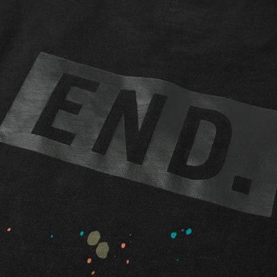 END x Levi's Painted Logo T-Shirt Tonal Black Detai 3