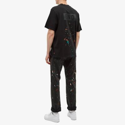 END x Levi's Painted Logo T-Shirt Tonal Black Full