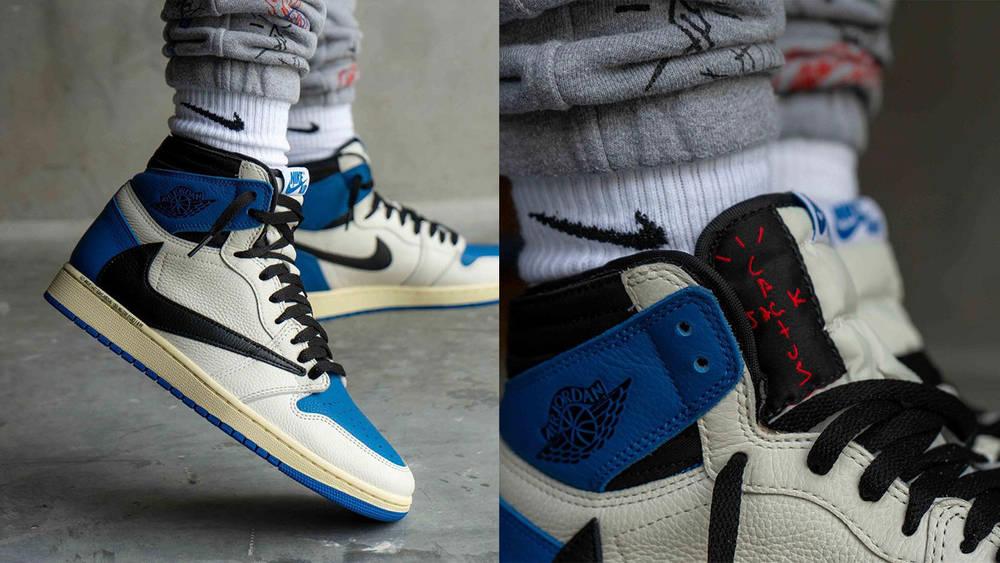 Travis Scott x fragment design x Air Jordan 1
