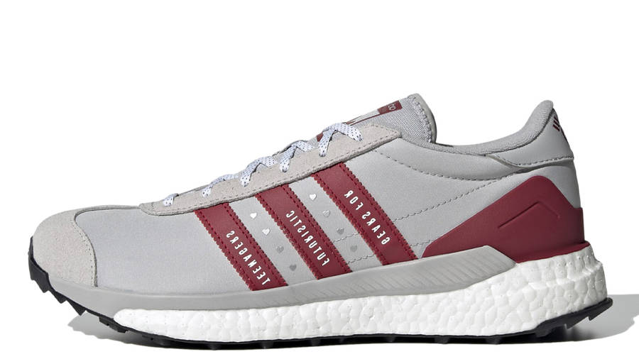 Human Made x adidas Country Grey Collegiate Burgundy
