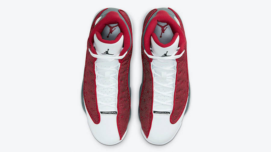 Jordan 13 Red Flint DJ5982-600 middle