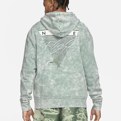 Jordan Flight Fleece Graphic Pullover Hoodie DA2697-006 Back