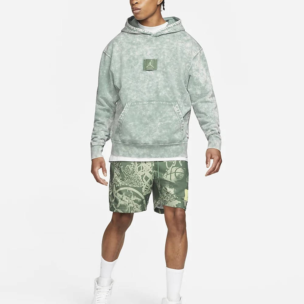 Jordan Flight Fleece Graphic Pullover Hoodie DA2697-006 Full