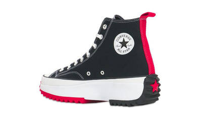 Keith Haring x Converse Run Star Hike Black Back
