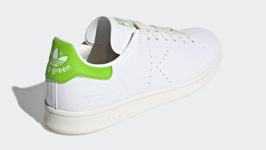 Kermit the Frog x adidas Stan Smith Cloud White Pantone Back