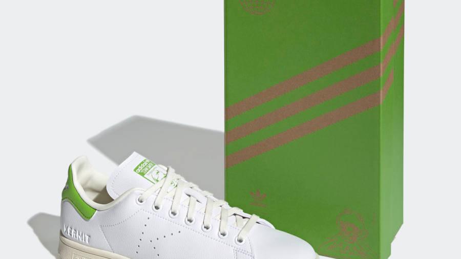 Kermit the Frog x adidas Stan Smith Cloud White Pantone Pack