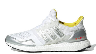 LEGO x adidas Ultra Boost DNA Cloud White Metallic Silver