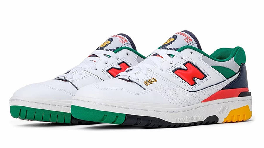 New Balance 550 White Multi BB550CL1 front