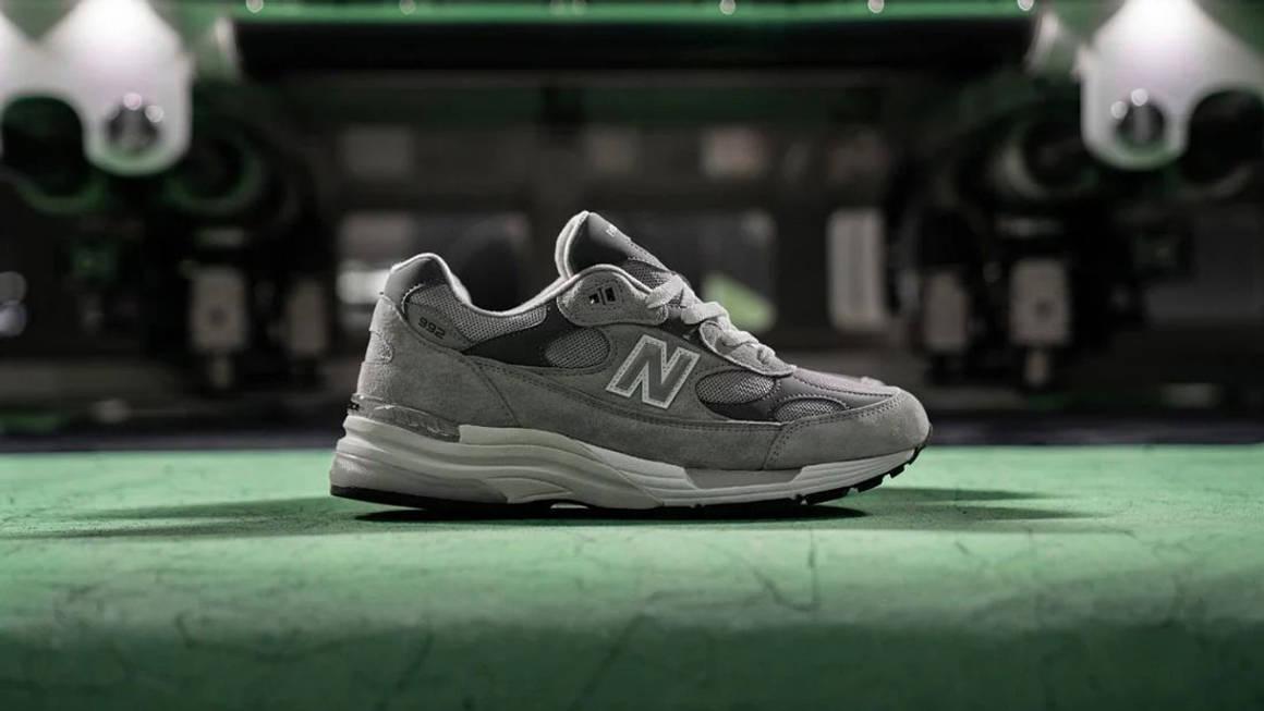 New Balance 992 Grey Size Guide