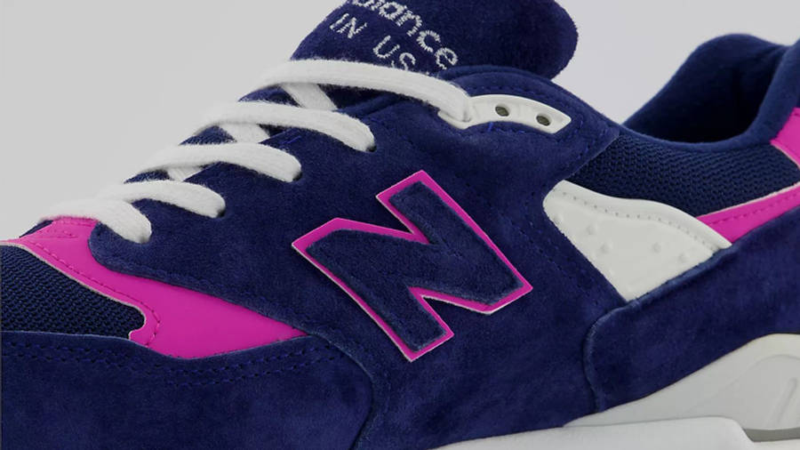 New Balance 998 MADE Reponsibly Closeup